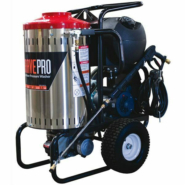 Bravepro Professional 2000 Psi Electric Hot Water