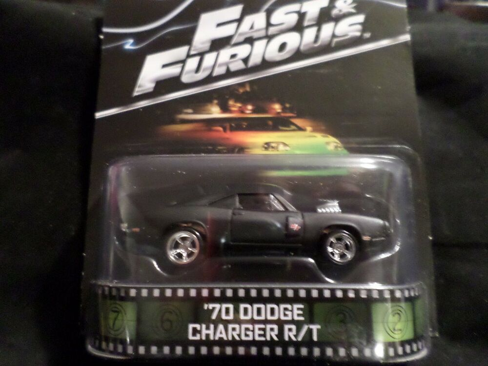 2014 Hot Wheels Retro Tv Fast Amp Furious 70 Dodge Charger