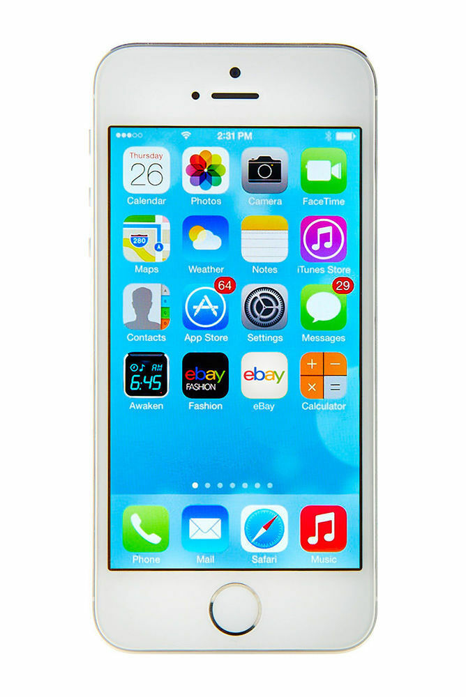 new apple iphone 5s 64 gb white unlocked 885909782857 ebay. Black Bedroom Furniture Sets. Home Design Ideas