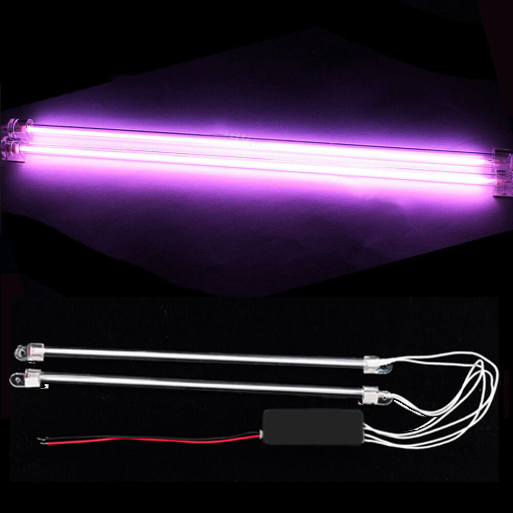 2pcs 12 car purple undercar underbody neon kit lights. Black Bedroom Furniture Sets. Home Design Ideas