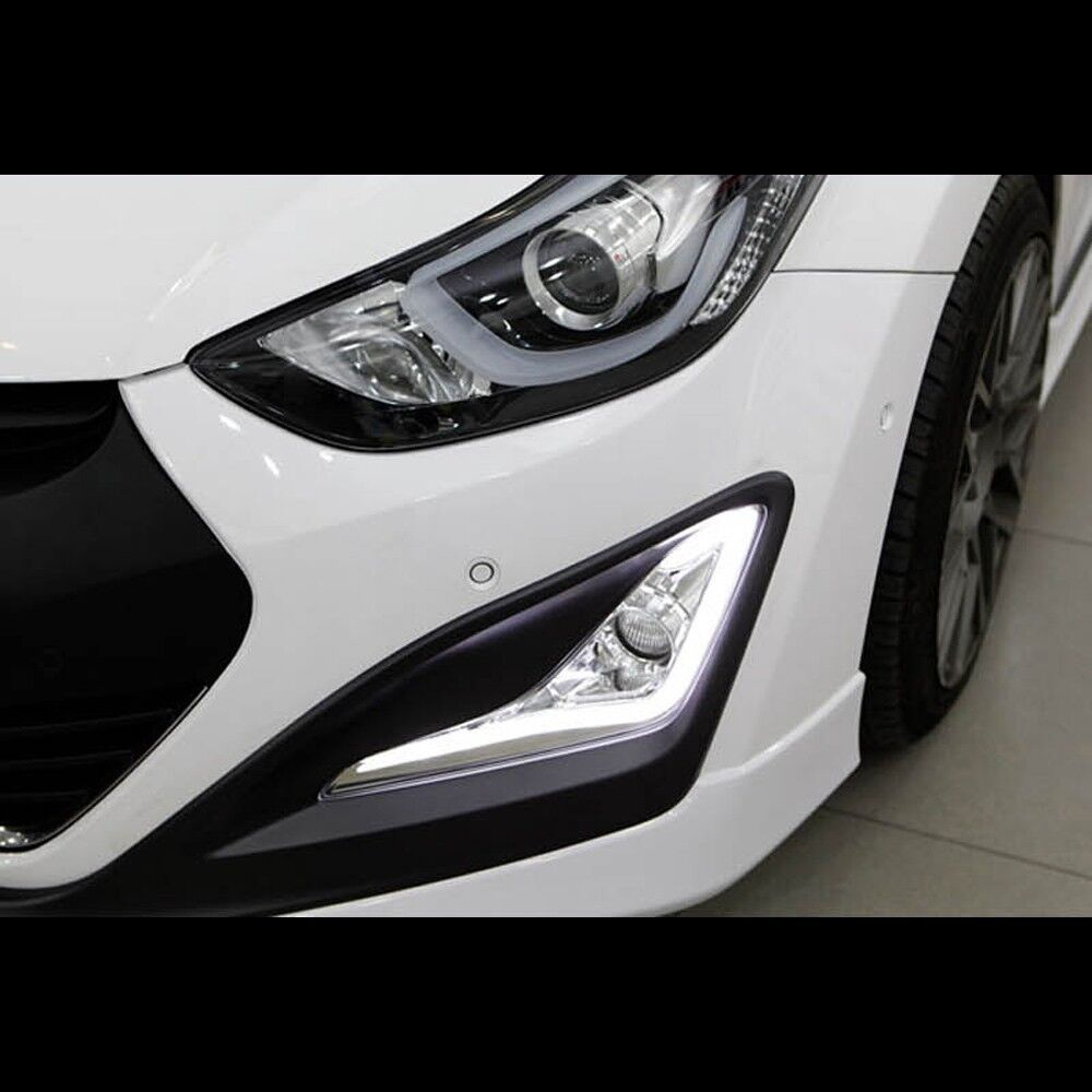 led daytime running light drl fog lamp for hyundai elantra. Black Bedroom Furniture Sets. Home Design Ideas