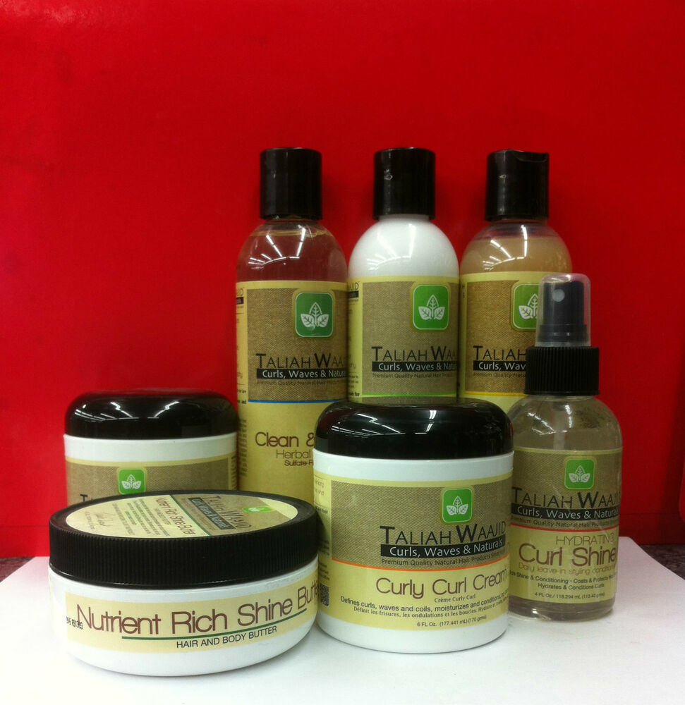 Taliah Waajid Natural Hair Care Products