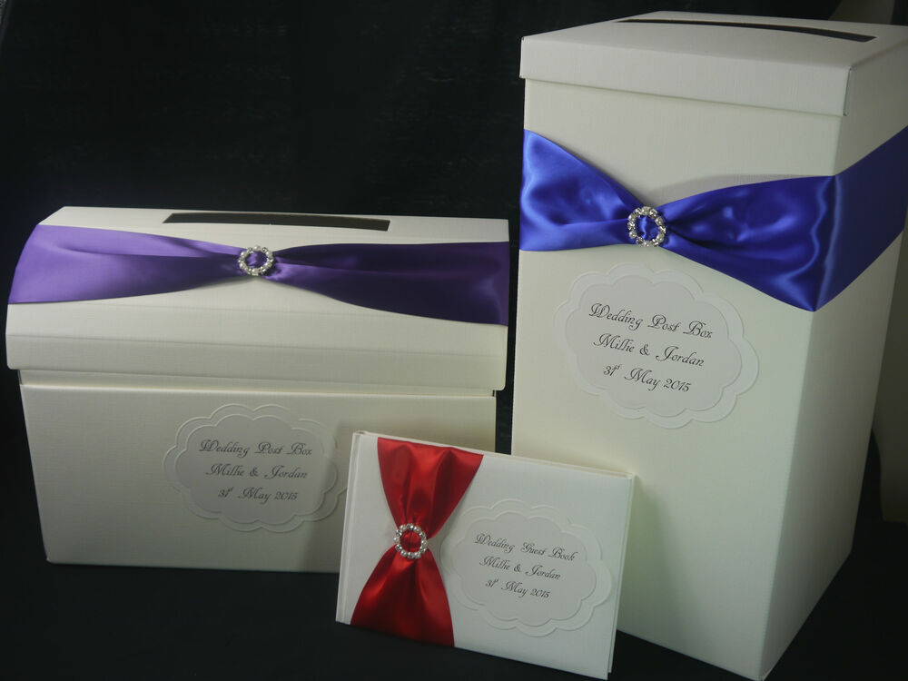 Wedding Gift Post Boxes Uk : ... Post Box, Guest Book, Keepsake Box, Buckle, Many Colours, Wedding Gift