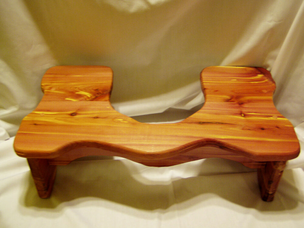 Handmade Cedar Squatty Stool For Potty Help 9 Quot Tall
