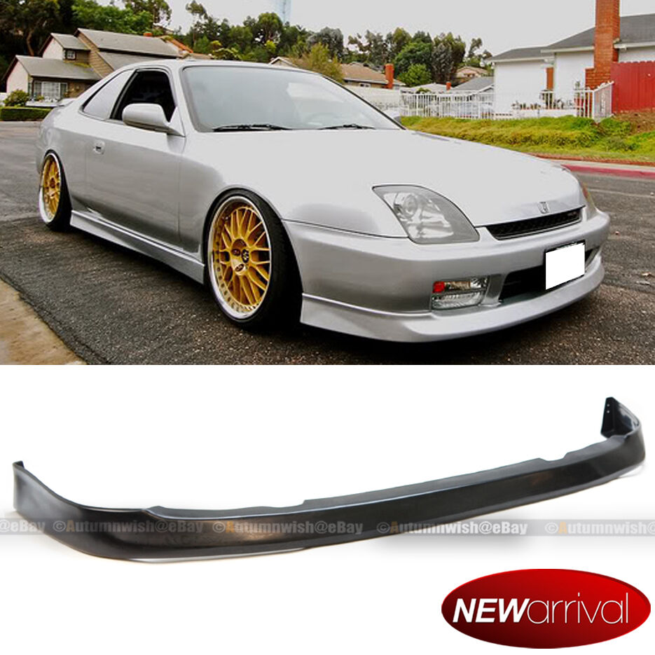 fits 97 01 prelude urethane oe style optional front bumper chin lip body kit ebay. Black Bedroom Furniture Sets. Home Design Ideas