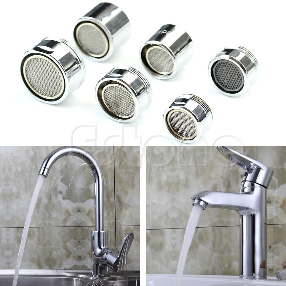 Kitchen Faucet Nozzle: Kitchen Faucet Tap Water Saving Aerator Chrome Male/Female