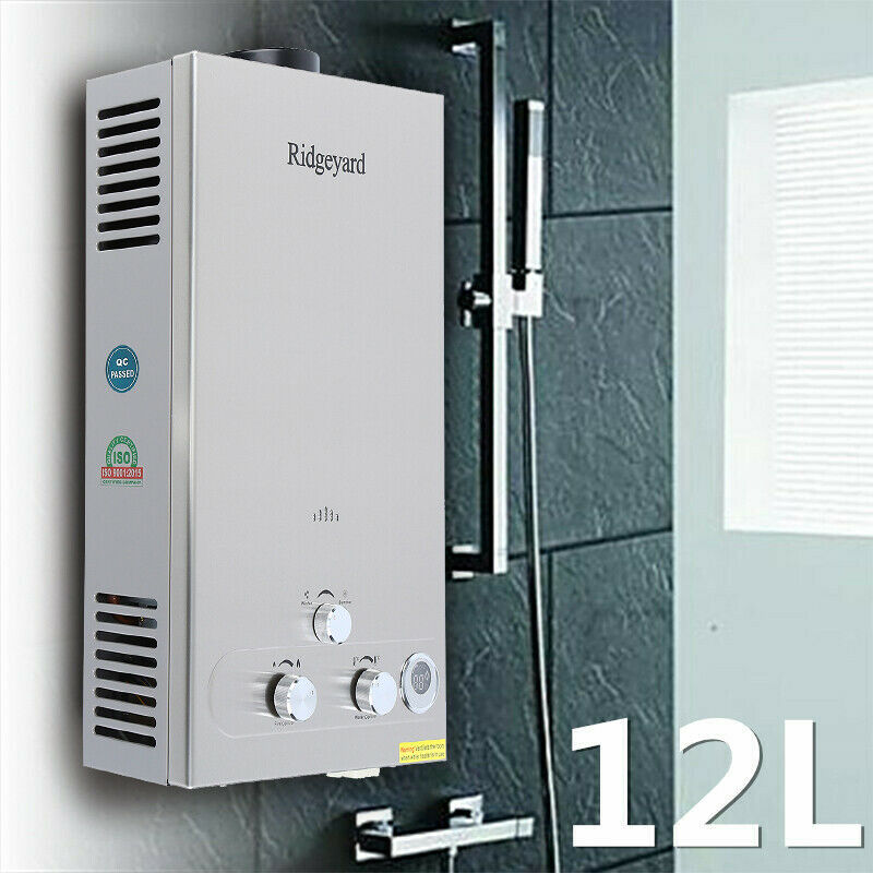 Instant Water Boiler : Gpm water heater l lpg propane gas tankless stainless