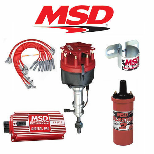 Msd 9017 Ignition Kit Digital 6al  Distributor  Wires  Coil