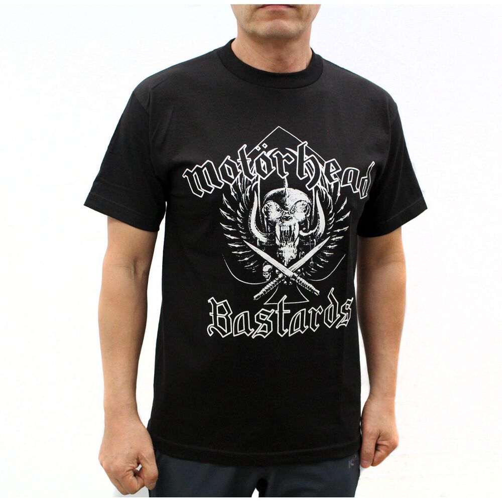 motorhead punk rock band graphic t shirts bastards ebay. Black Bedroom Furniture Sets. Home Design Ideas