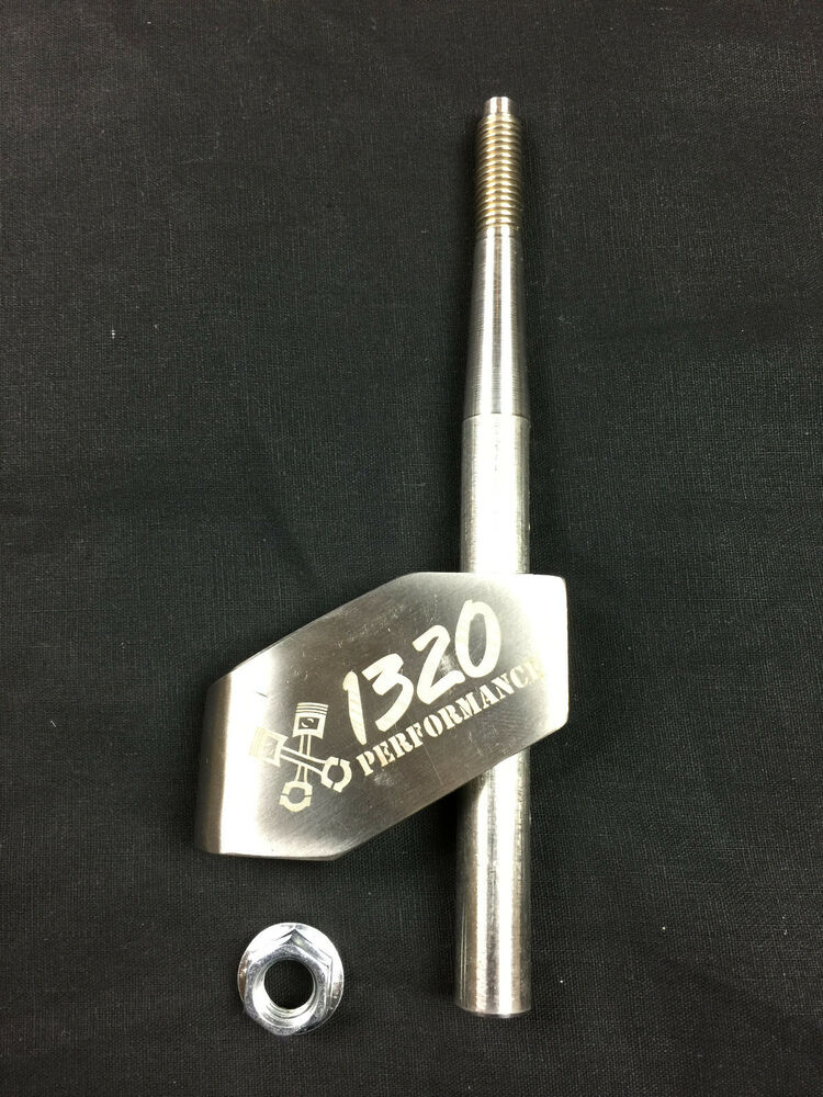 1320 Performance Adjustable Stainless Steel Shifter
