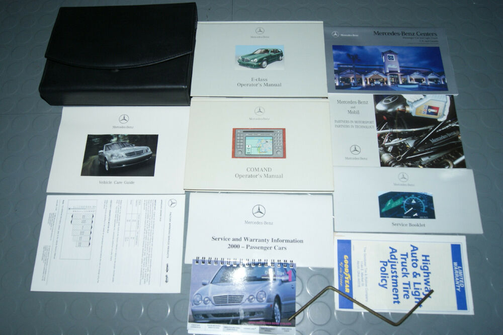 2000 mercedes benz e320 e class 320 wagon owners manual w