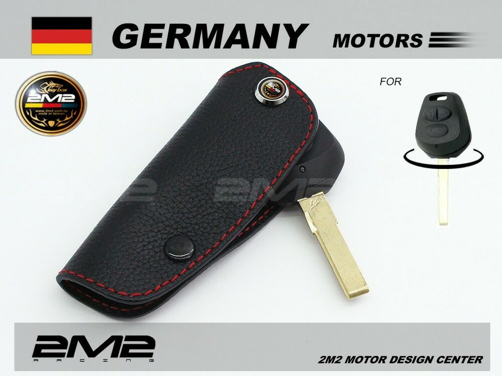 A401 Leather Key Fob Holder Case Chain Cover Fit For
