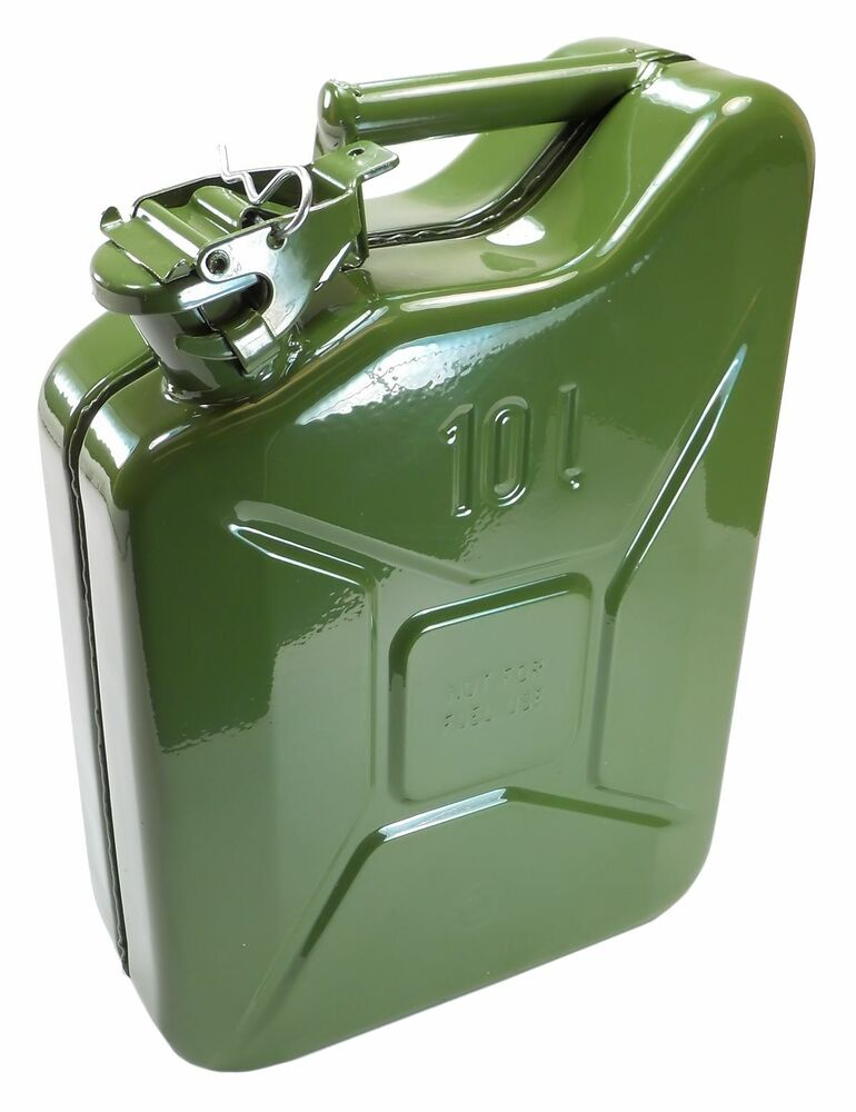 New Nato Jerry Can 10 Liters 2 64 Gallons Ebay