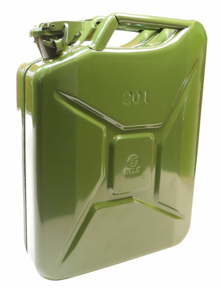 new nato jerry can 20 liters 5 28 gallons ebay