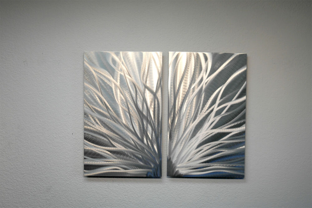Abstract Metal Wall Art- Contemporary Modern Decor ...
