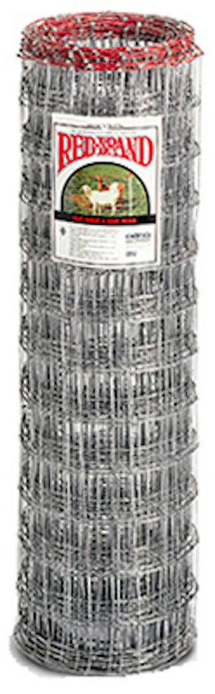 Red Brand 48 Quot H X 100 L 4 Quot X 4 Quot Mesh Galvanized Sheep