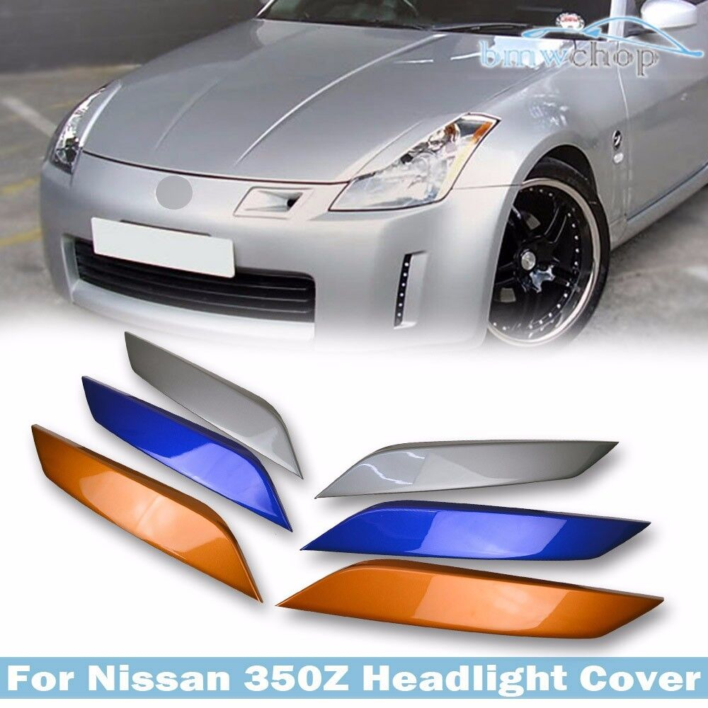 Painted For 350z Z33 Fairlady Z 2d Coupe Eyelid Eyebrows