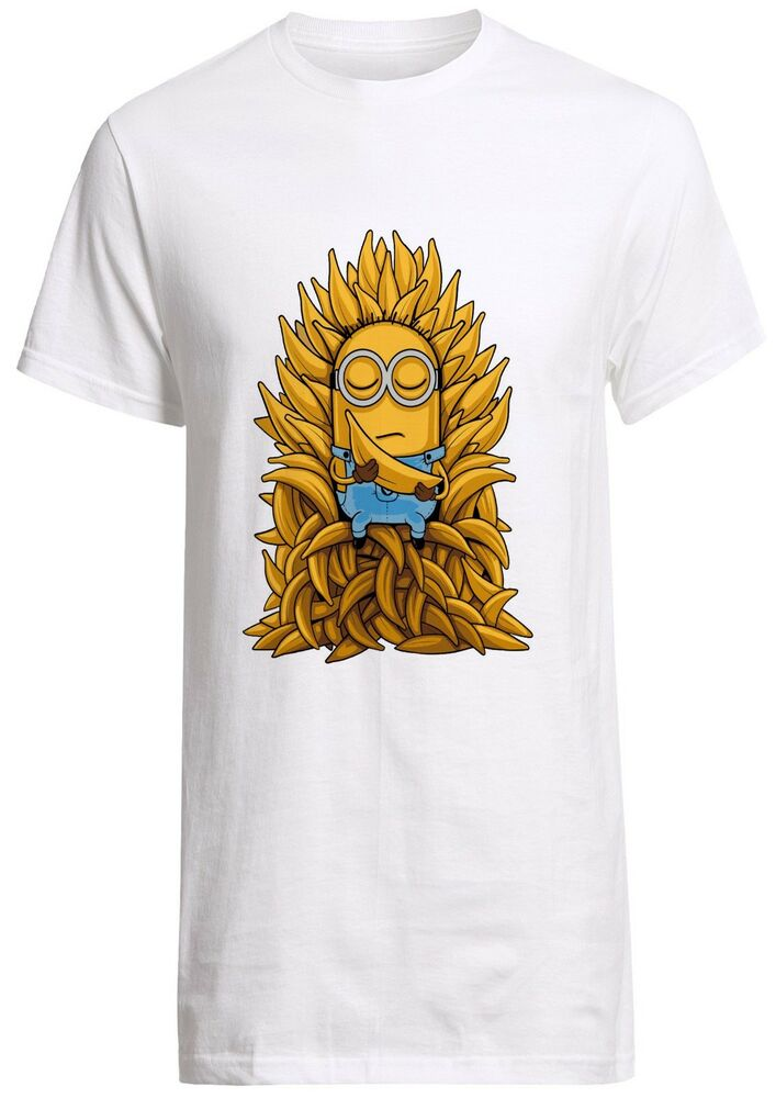 Despicable me minions game of thrones banana minion parody for Game of thrones dress shirt