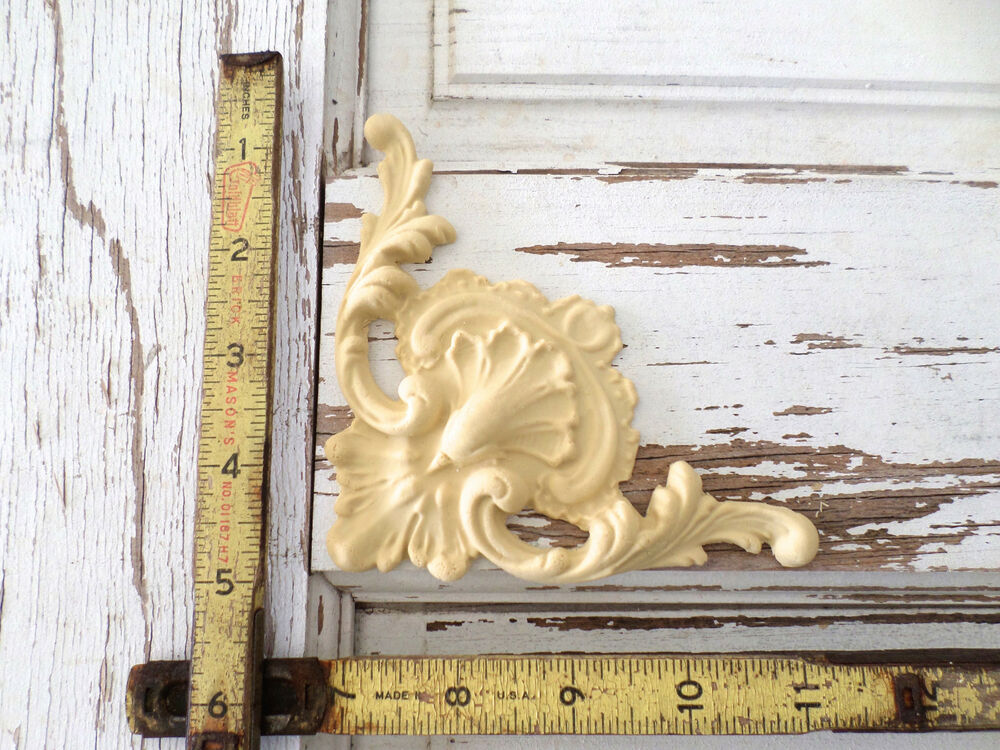 Furniture Architectural Appliques Corner Wood Resin Stainable Paintable New Ebay