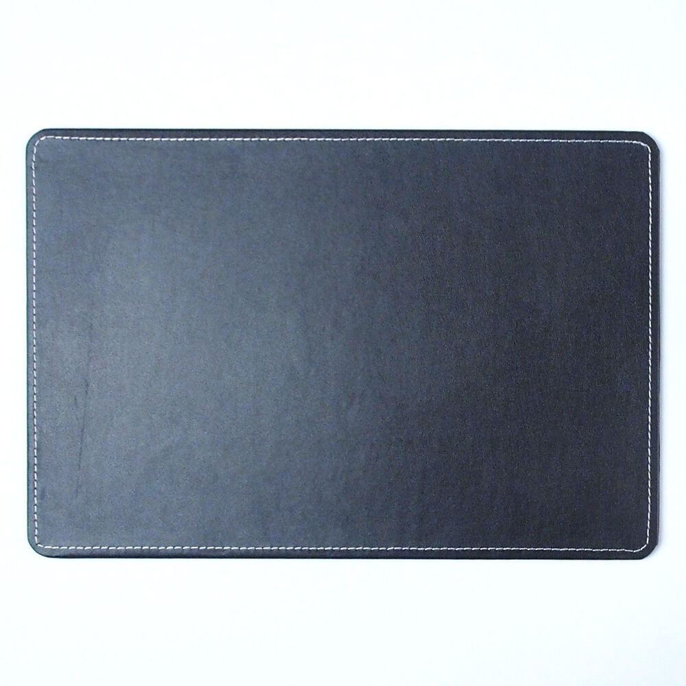 10day Shipping Small Artificial Leather Desk Mat 15x10