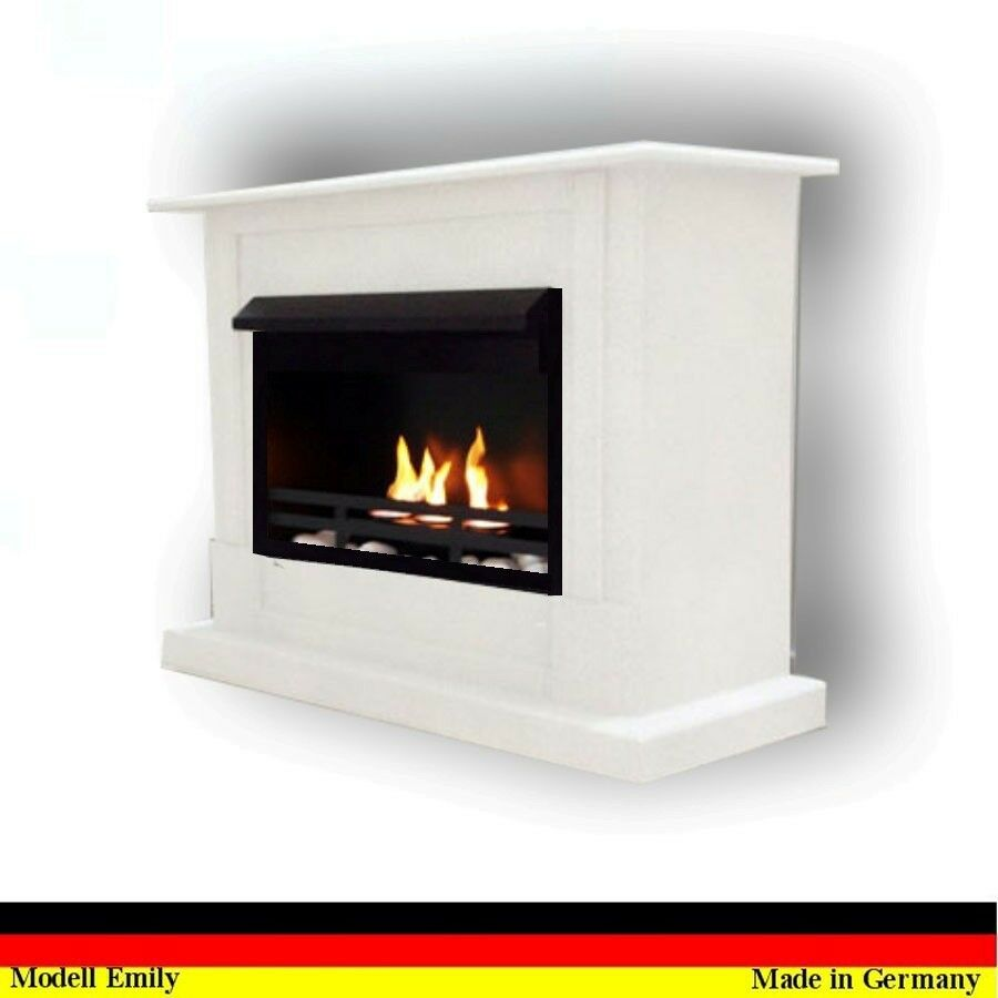 gelkamin kamin ethanolkamin fireplace emily premium weiss. Black Bedroom Furniture Sets. Home Design Ideas