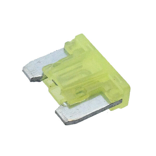 20a Yellow Low Profile Mini Blade Fuse Car Auto Aps Att 20 Amp