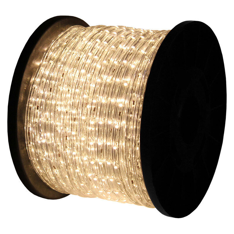 50 100 150 300 Led Rope Light Home Outdoor Christmas: 150'ft Warm White 2-Wire LED Rope Light Flexible Home