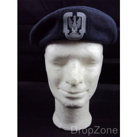 img-Poland Polish Air Force Beret with Badge, Assorted Sizes 55-60cm
