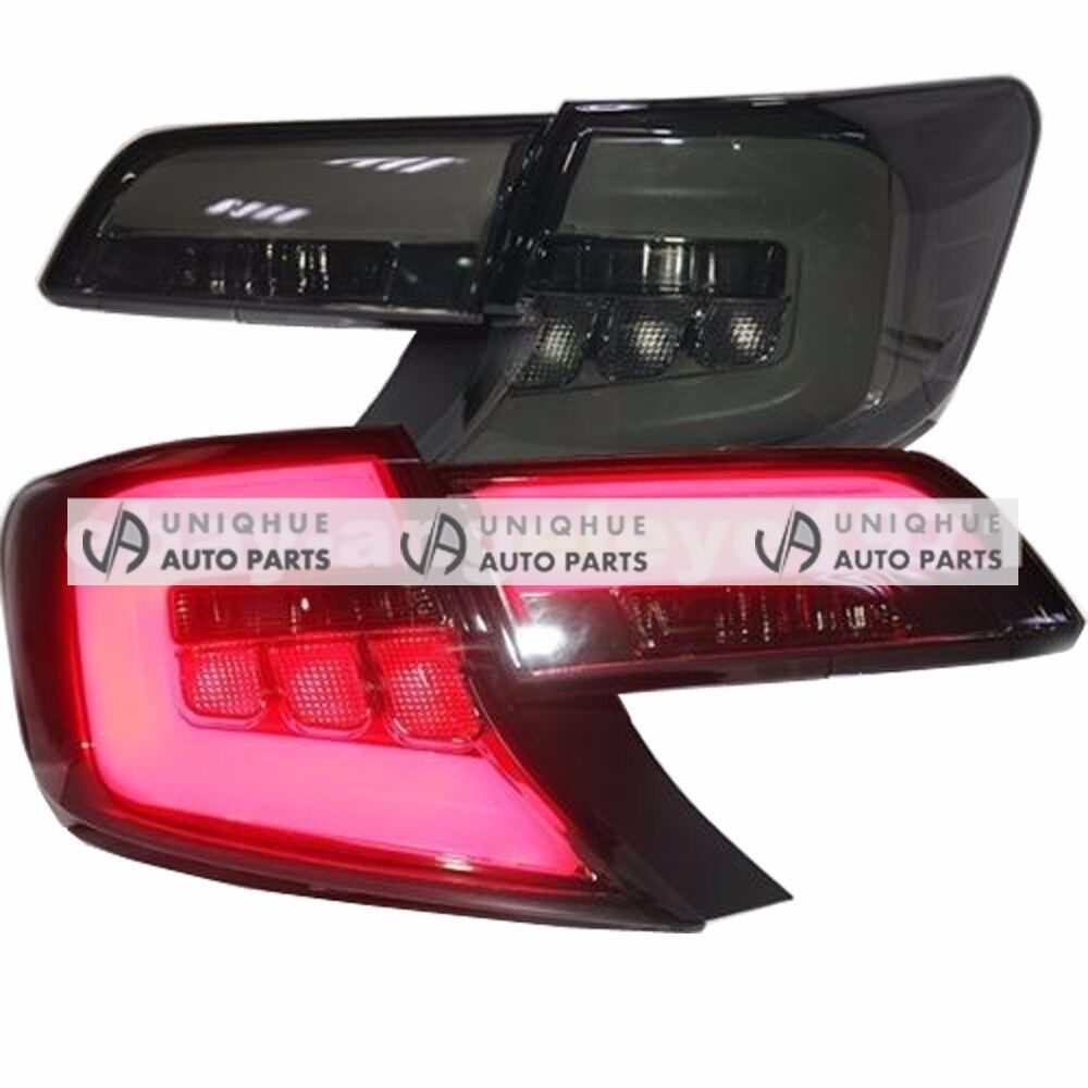 North America Type Smoke Led Tail Lights Rear Lamps For