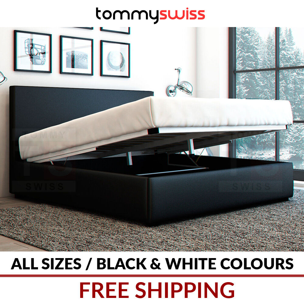 tommy swiss gas lift bed frame instructions