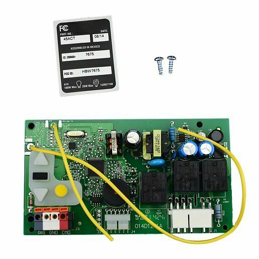 Liftmaster 45act Logic Boards Replacement Parts Garage Openers 8355