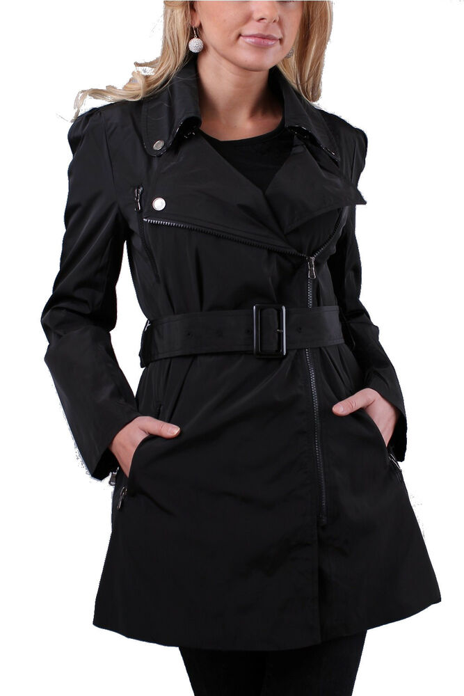 damen mantel bergangsjacke damenmantel jacket trenchcoat. Black Bedroom Furniture Sets. Home Design Ideas