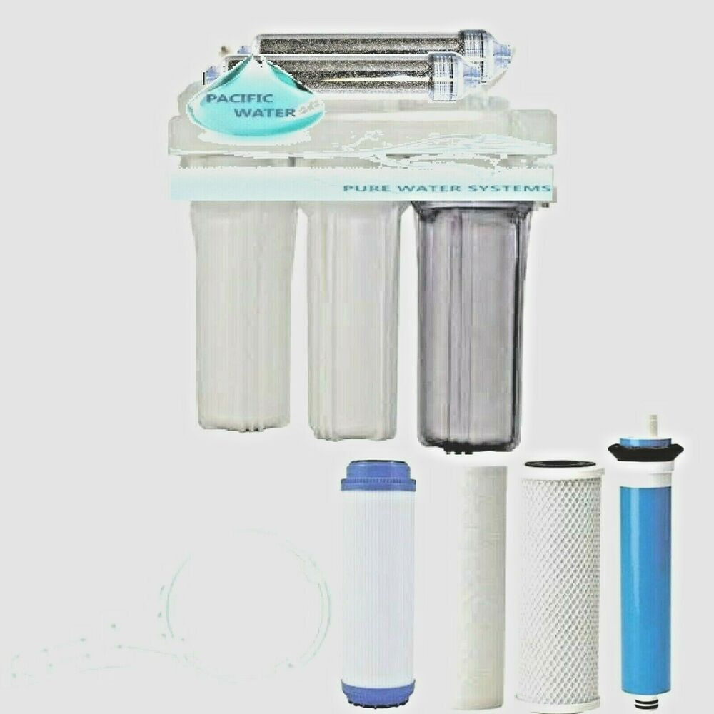 Pacific Aquarium Reef Reverse Osmosis Water 6 Stage Ro Di