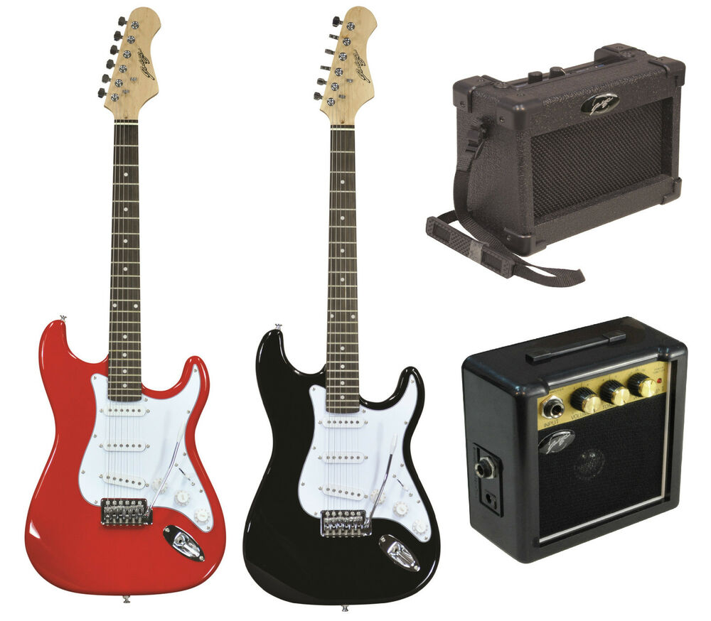 johnny brook electric st style guitar mini amp amplifiers shoulder belt clip ebay. Black Bedroom Furniture Sets. Home Design Ideas