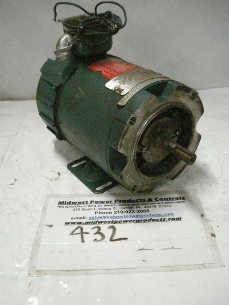 Reliance dc motor t56h1101 33hp 1725 56c armature 90v for 100 hp electric motor price