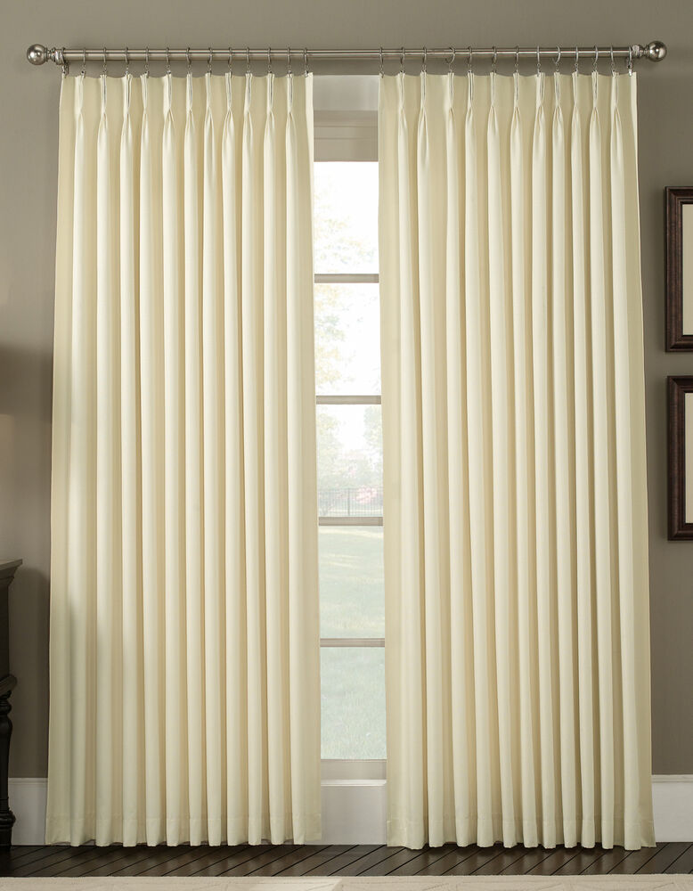 Drapery And Curtain Ideas: Ellis Curtain Fireside Insulated Duck Cloth Draperies