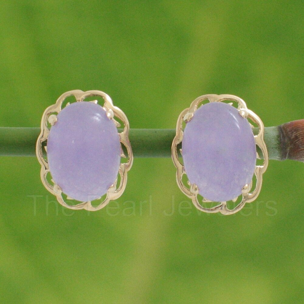 14k Solid Yellow Gold 6x8mm Cabochon Oval Lavender Jade. Halloween Engagement Rings. Wedding Band Sets. Effy Diamond. Asscher Cut Diamond Stud Earrings. Love Cartier Necklace. Natural Color Diamond. Mens Engagement Rings. Nameplate Bracelet