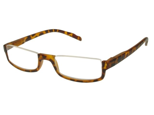 Eyeglass Frames Blue Moon : GL2154 Sloane Tortoiseshell Half Moon Reading Glasses ...