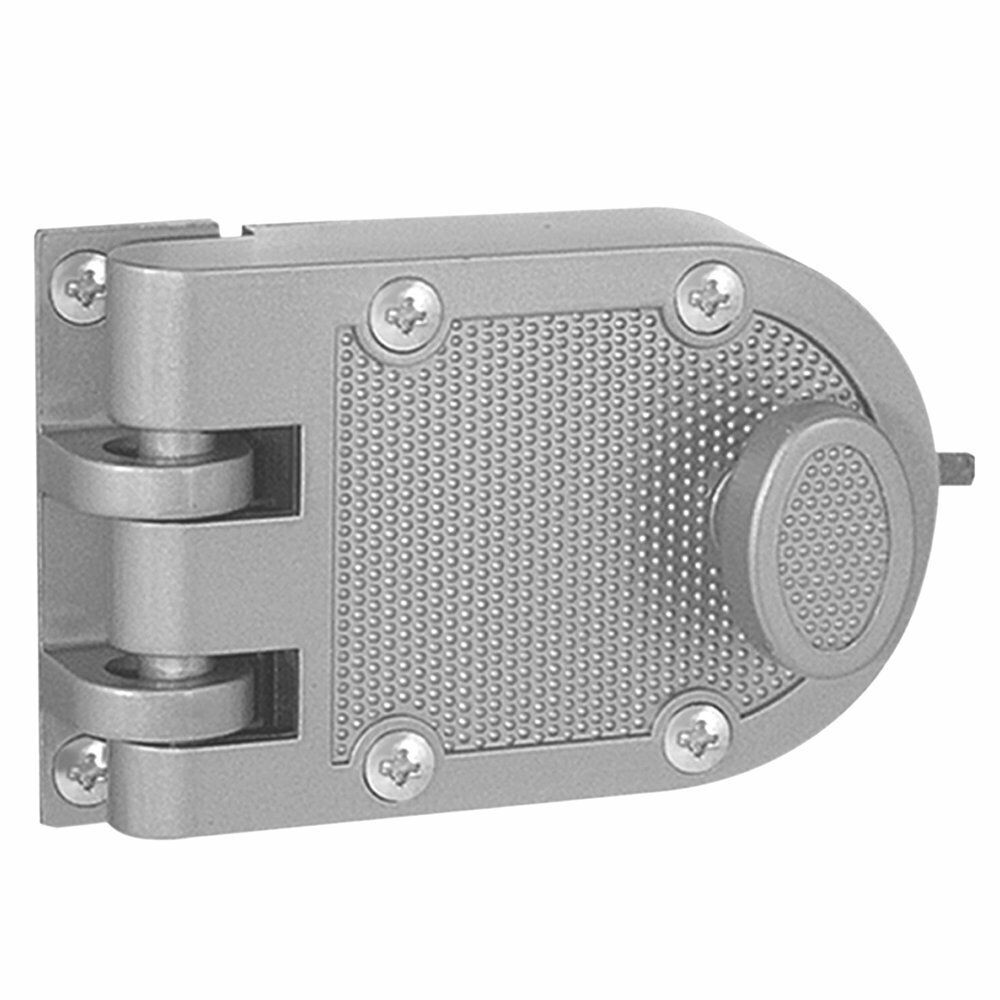 Jimmy Proof Deadbolt Lock Silver Single Cylinder With