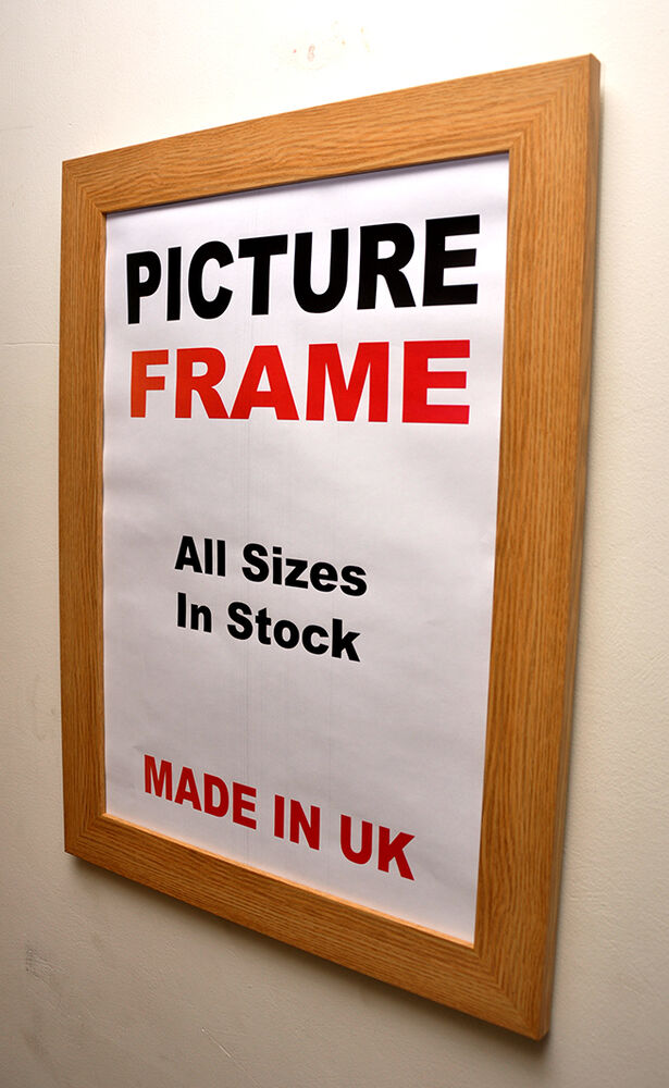 Oak Picture frame 40mm wide , All Sizes|Picture Frame ...