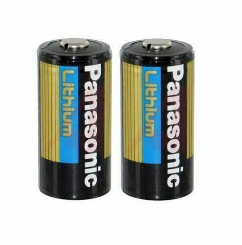 cr123 panasonic cr123a 3 volt 2 3a photo lithium battery 2 batteries ebay. Black Bedroom Furniture Sets. Home Design Ideas