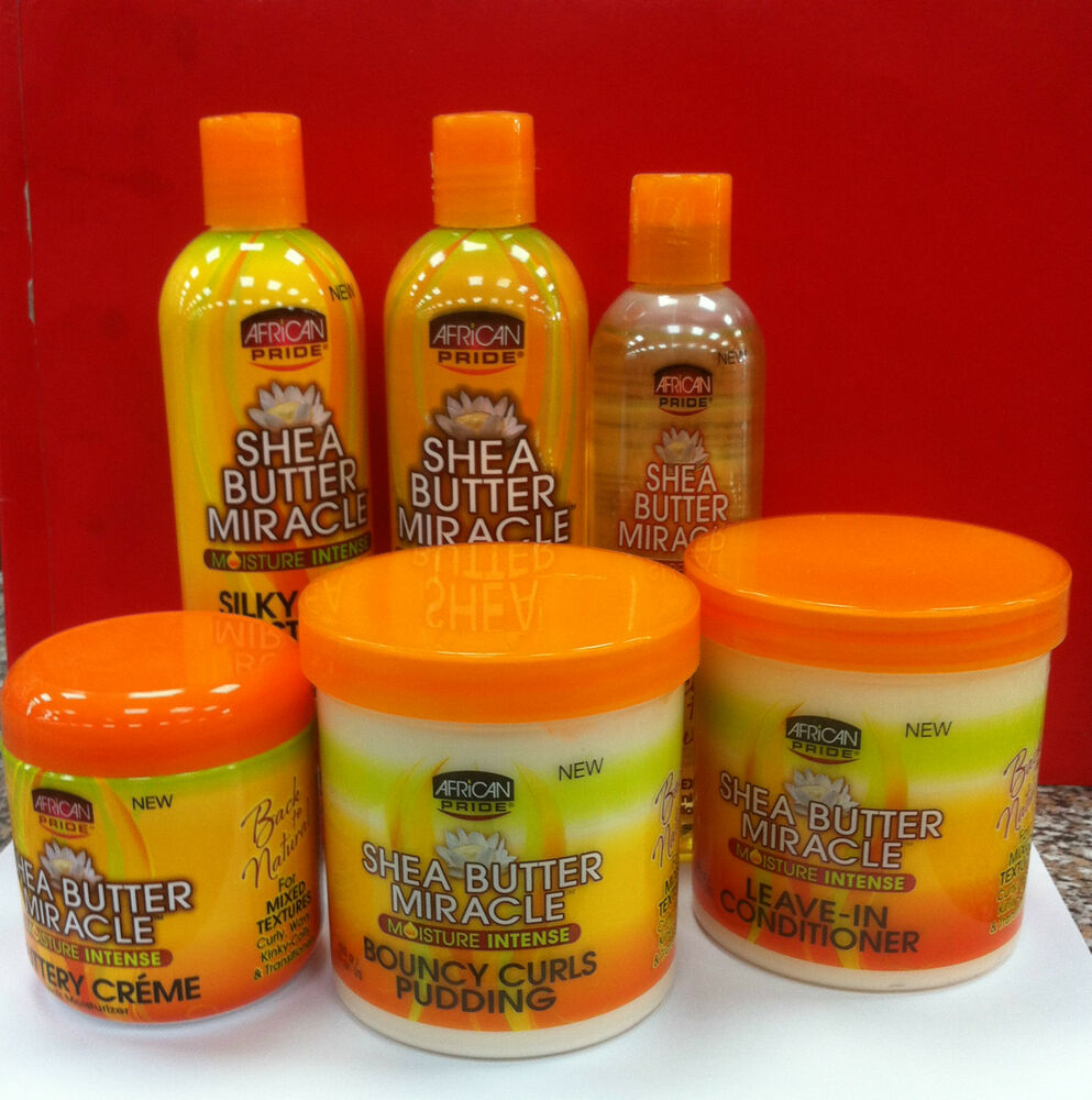 Natural Hair With African Pride Shea Butter