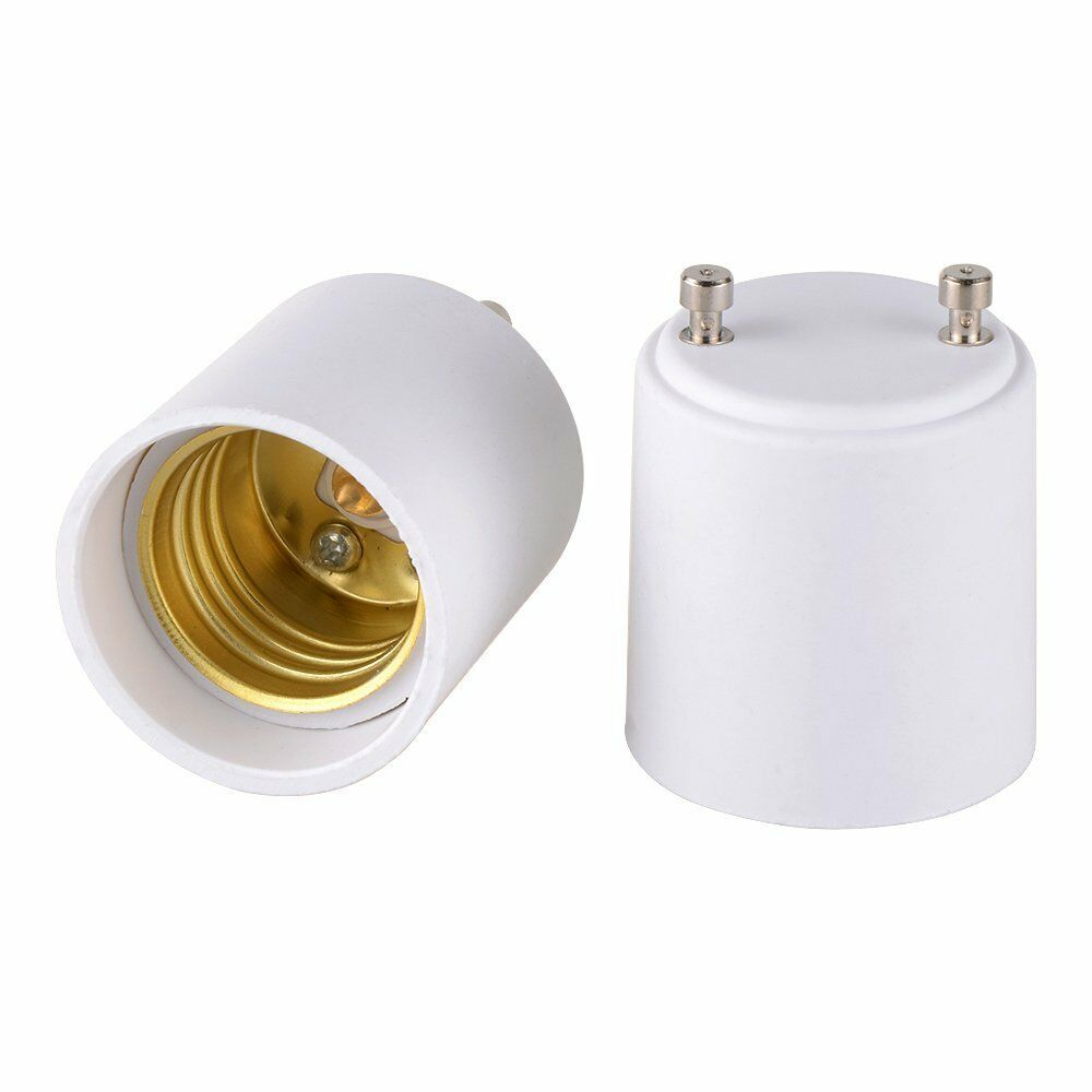 Pack of 5 light bulb lamp base socket adapter converter gu24 to e26 e27 ebay Light bulb socket