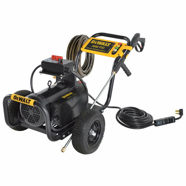 Dewalt Professional 2000 Psi Electric Cold Water