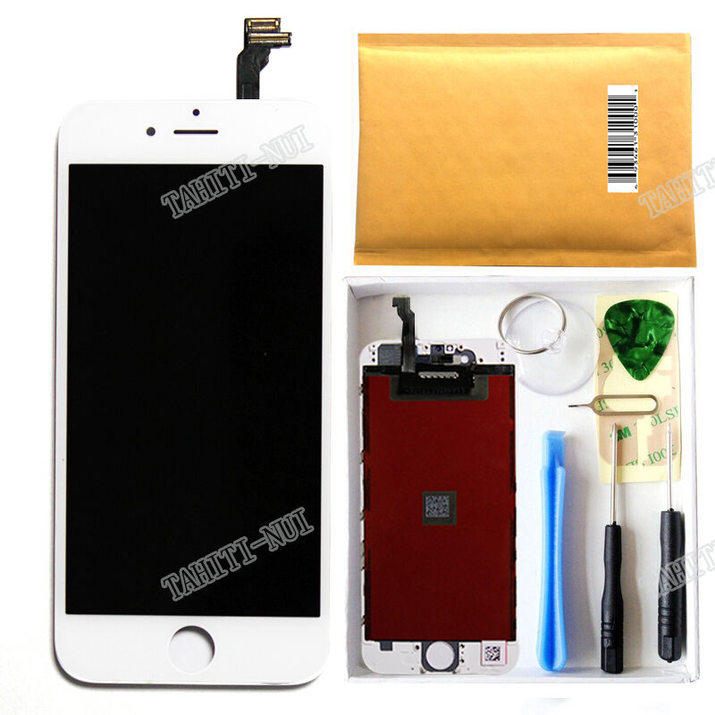 iphone 6 new screen white lcd display touch screen digitizer assembly 15001