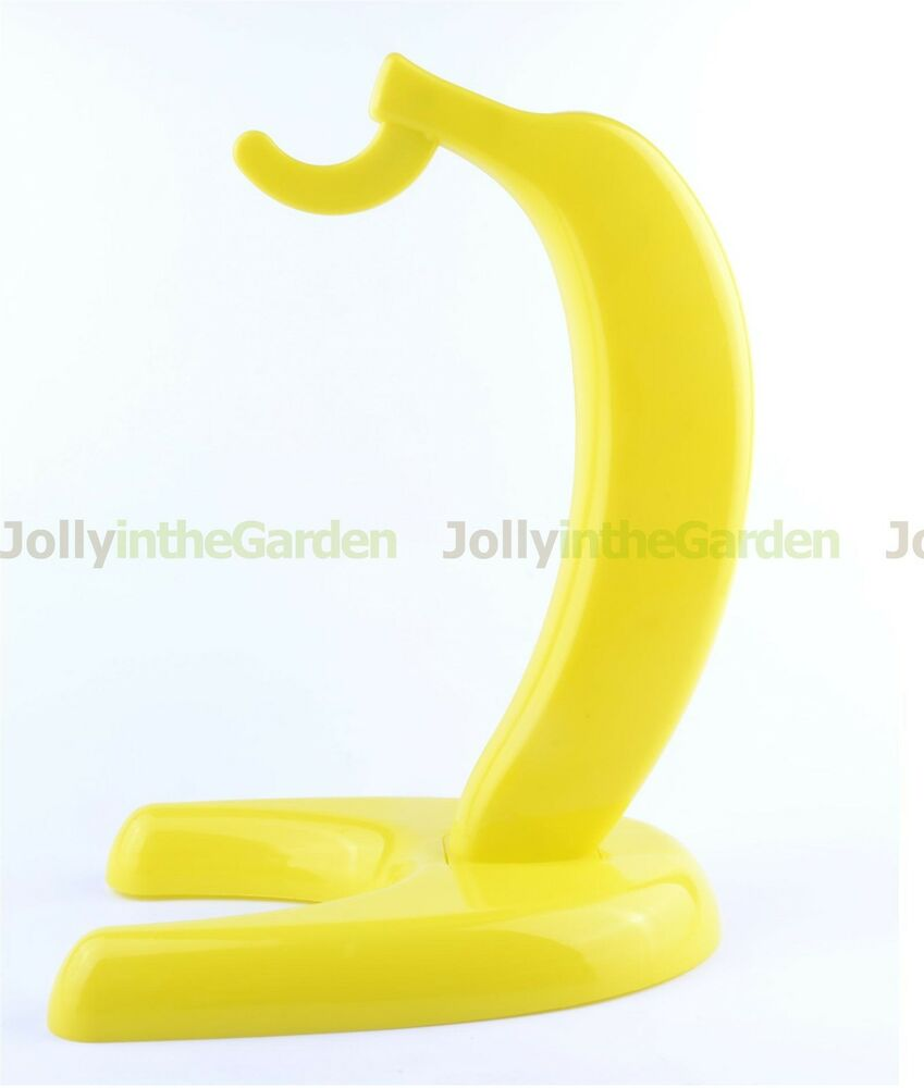 Banana Rack Stand Plastic Fruit Hook Hanging Holder Keeper