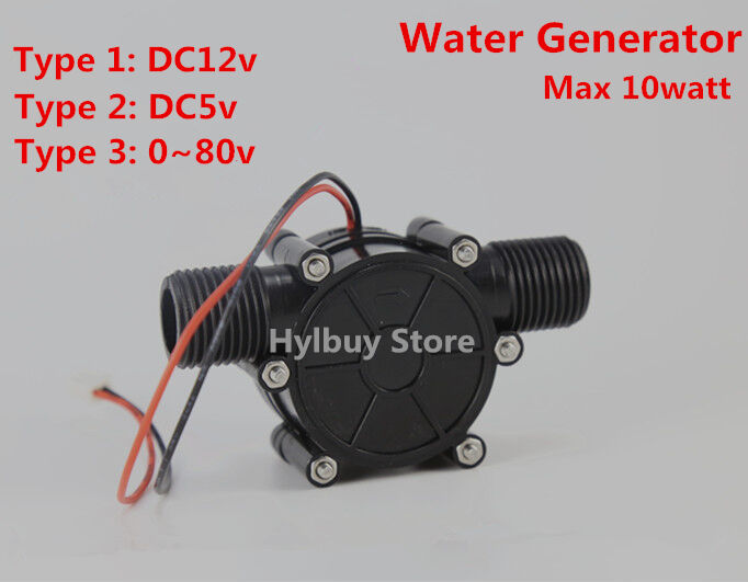 10w water turbine generator small Hydroelectric power generator DC5v ...