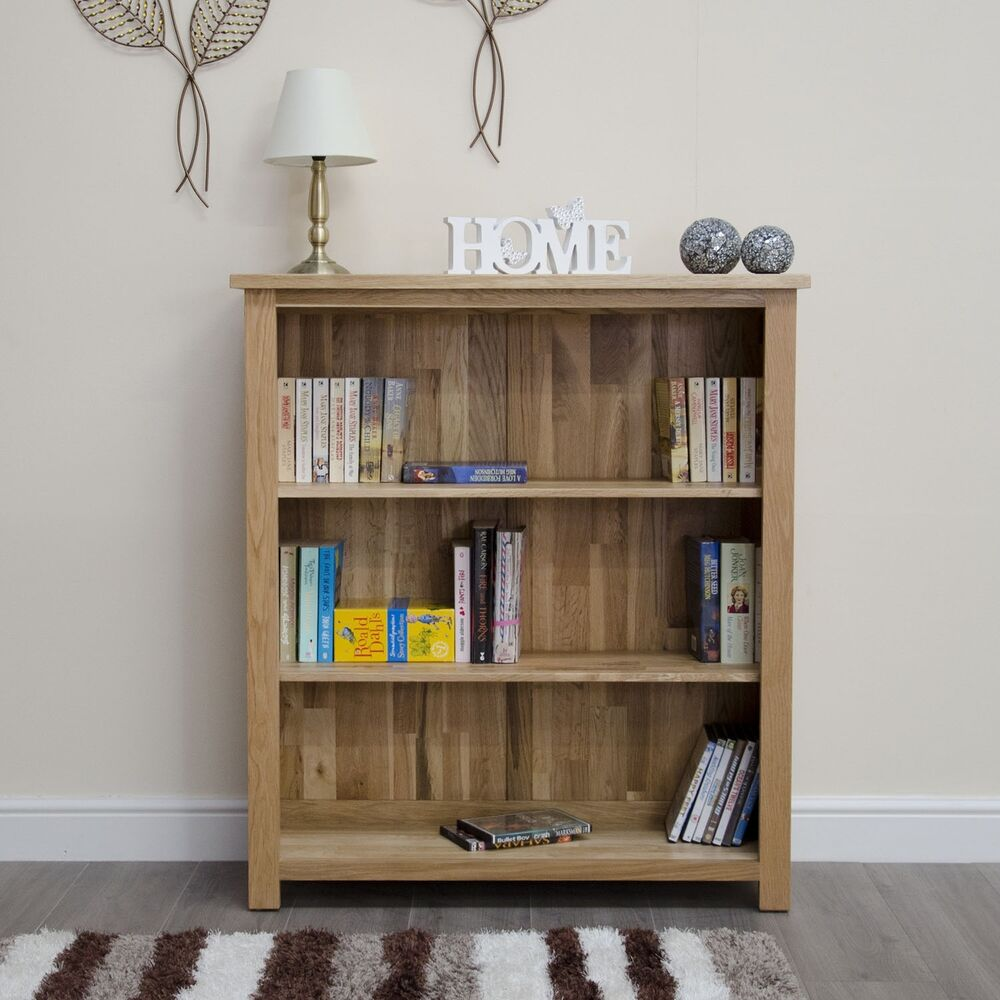 Bookshelves For Small Rooms ~ Arden solid modern oak furniture small office living room