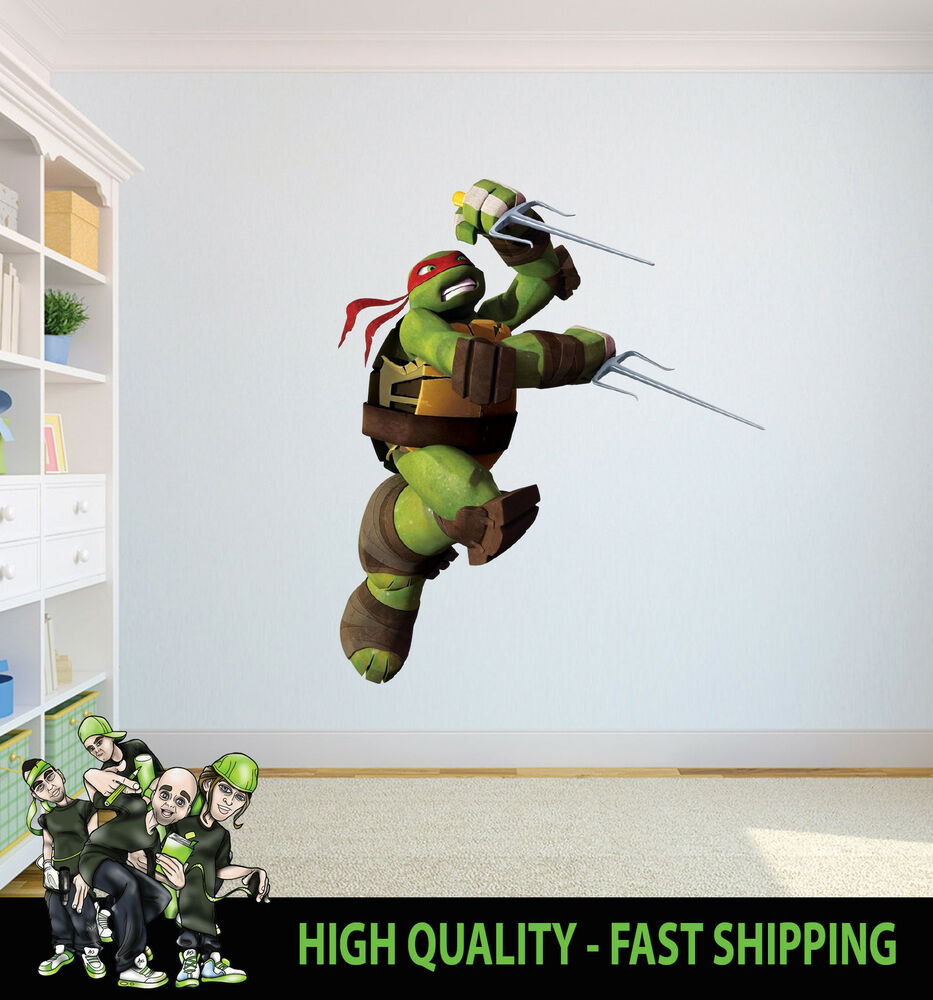 RAPHAEL TEENAGE MUTANT NINJA TURTLE WALL ART GRAPHIC ...