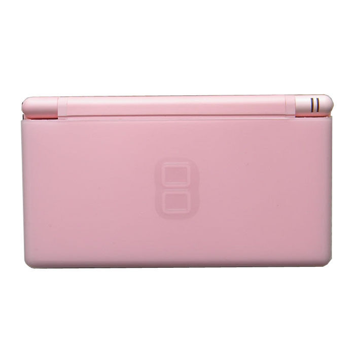 brand new coral pink nintendo ds lite console handheld system with gifts 45496717759 ebay. Black Bedroom Furniture Sets. Home Design Ideas